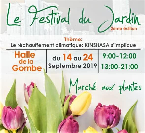 Kinshasa : l'Institut français abritera la 2ème édition du Festival du Jardin du 14 au 24 septembre 2019 1