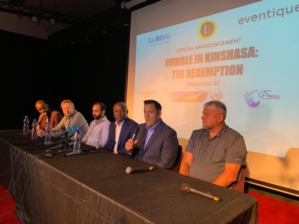 RDC : Divo et ses partenaires annoncent « The Rumble in Kinshasa » 1