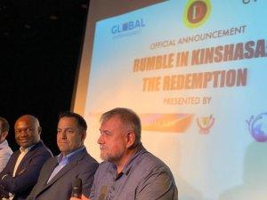 RDC : Divo et ses partenaires annoncent « The Rumble in Kinshasa » 2