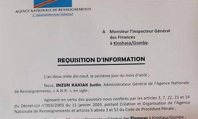 RDC : l'Inspection des finances audite la gestion des fonds alloués aux Ministères 12