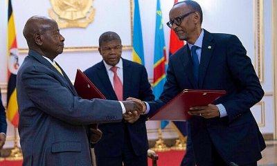 Afrique : Kagame et Museveni fument le calumet de la paix ! 69