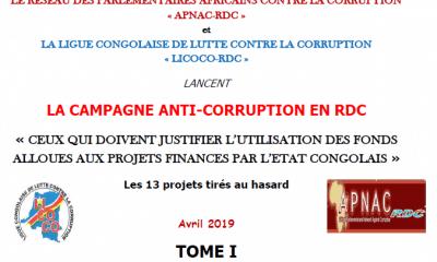 RDC : deux ONG exigent la redevabilité des milliards USD alloués à 13 projets de l'Etat 18