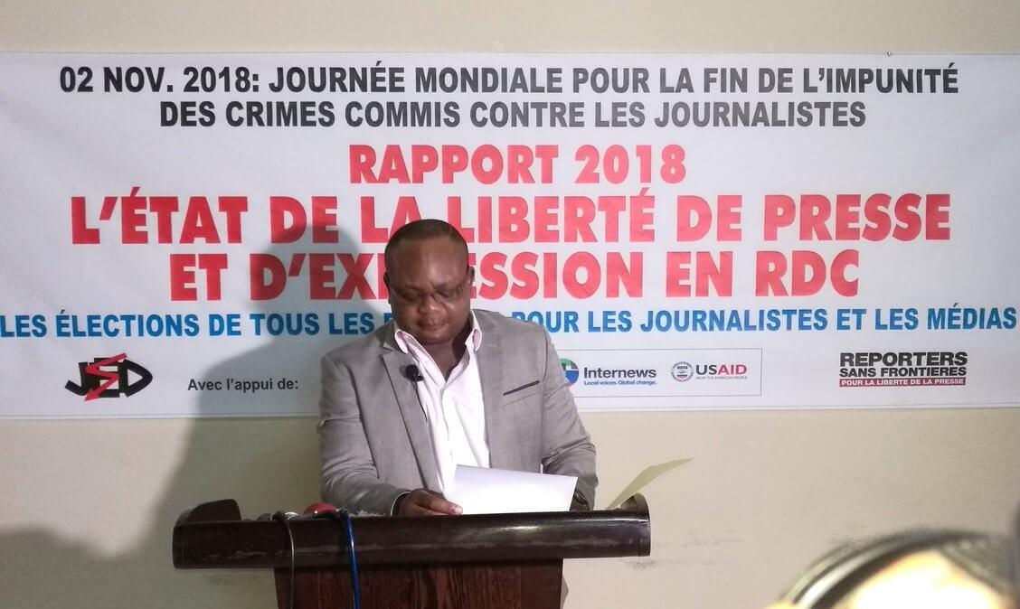 RDC : JED propose quatre mesures au gouvernement pour renforcer la liberté de la presse 1