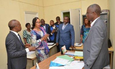 RDC : Economie nationale, le tandem Bandubola-Okito s'imprègne des conditions de travail du personnel 62