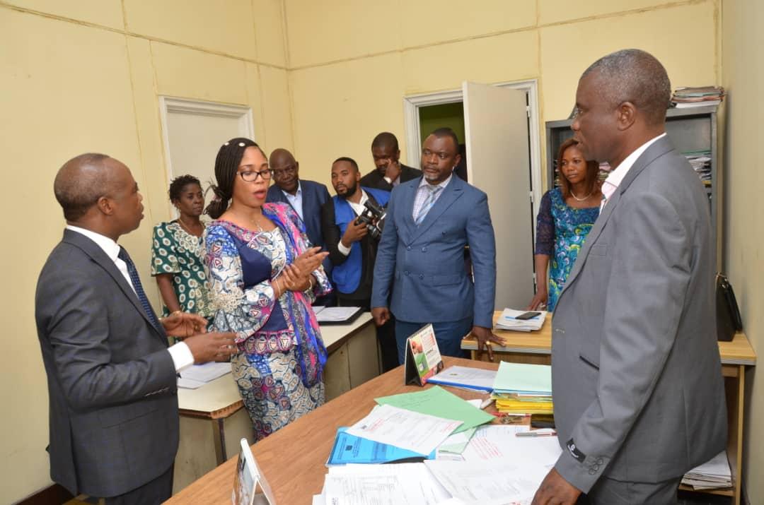 RDC : Economie nationale, le tandem Bandubola-Okito s'imprègne des conditions de travail du personnel 1