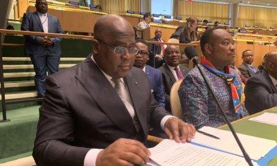 New-York: Tshisekedi attend prononcer son discours historique à l'ONU 67