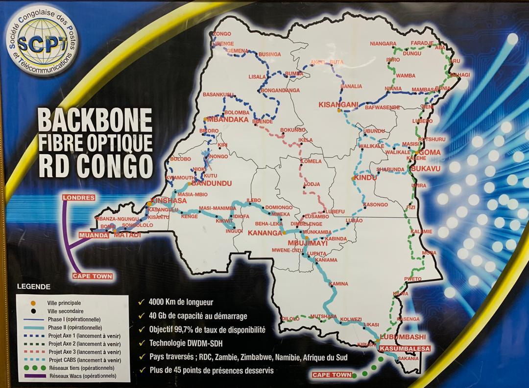 RDC : le trafic internet par fibre optique n'est pas géré à partir du Rwanda (Officiel) 1