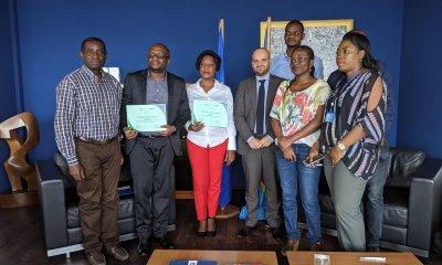 RDC : cinq green-journalistes primés au concours Forêts ! 47