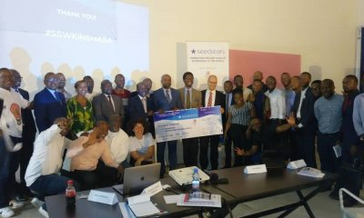 Kinshasa : startup « YETU », vainqueur du concours Seedstars 54