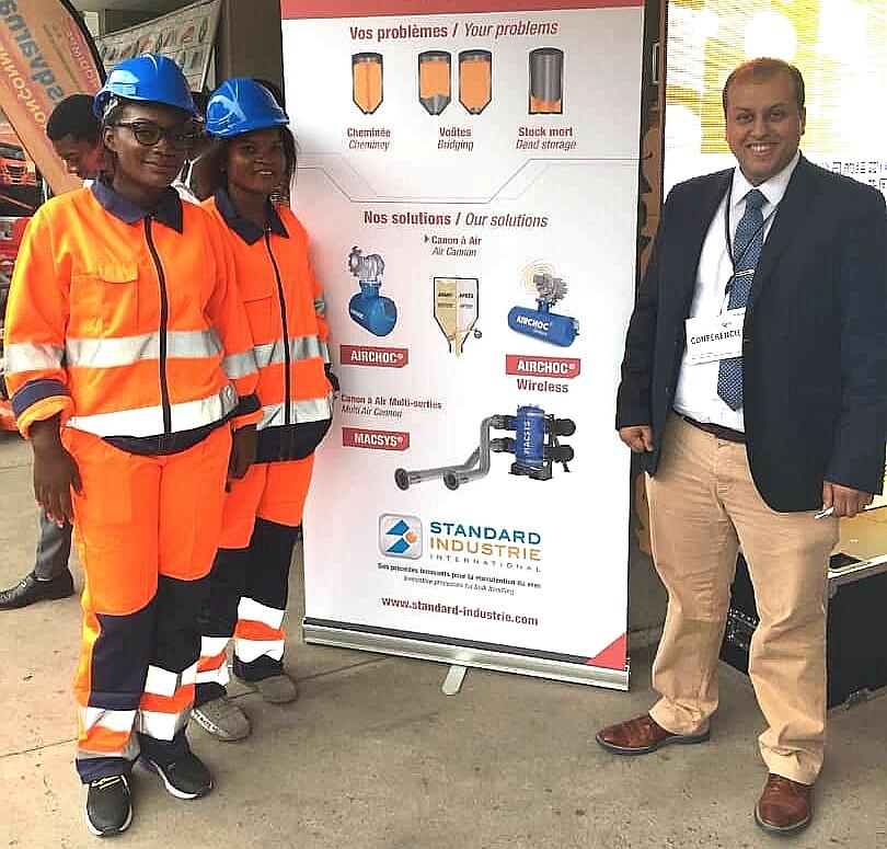 RDC : à la conquête du marché, Standard Industrie participe à Expobéton 2019 1