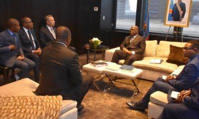 RDC : le chef de l'Etat reçoit quatre gouverneurs de provinces à New-York 83