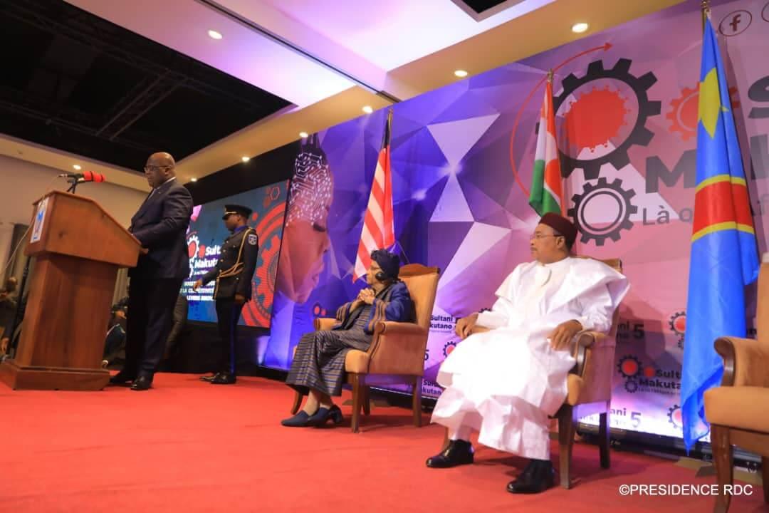 RDC: le président Tshisekedi préside la cérémonie d'ouverture du Makutano 5 1