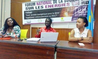 RDC : huit résolutions de la société civile pour le secteur de l'énergie électrique 90