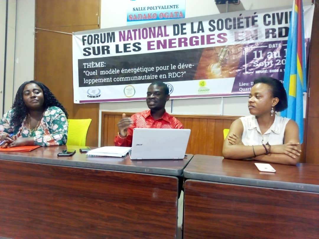 RDC : huit résolutions de la société civile pour le secteur de l'énergie électrique 1