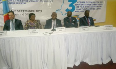 RDC : 10 000 agents fictifs à élaguer du fichier de paie, 6,5 millions USD à récupérer par l'Etat 18