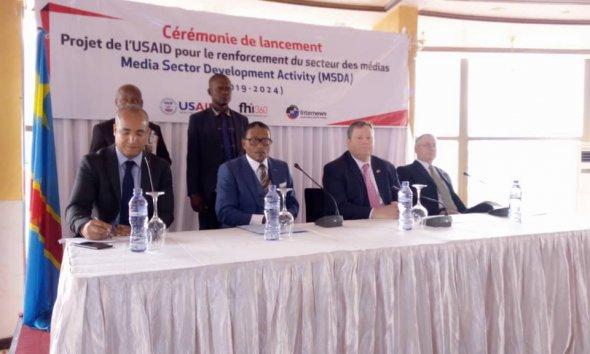RDC : USAID aligne 15 millions USD pour un projet en faveur des médias 41