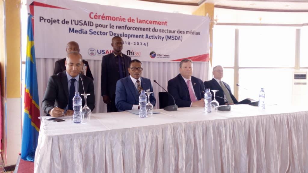 RDC : USAID aligne 15 millions USD pour un projet en faveur des médias 1
