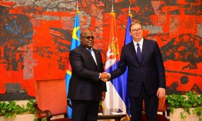 RDC : coopération technique militaire et l'agro-alimentaire sont les retombées du séjour de Félix en Serbie!