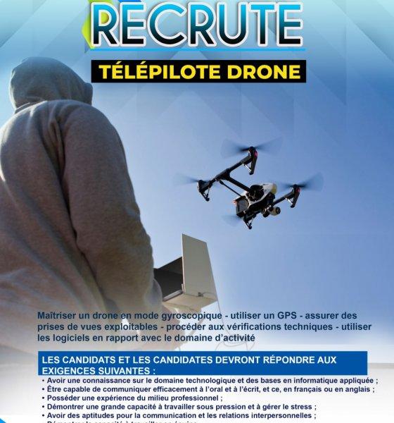 RDC : GD TECH recrute pour 6 poste.