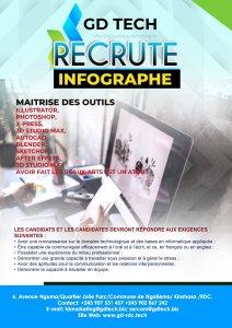 RDC : GD TECH lance un recrutement pour six postes 5