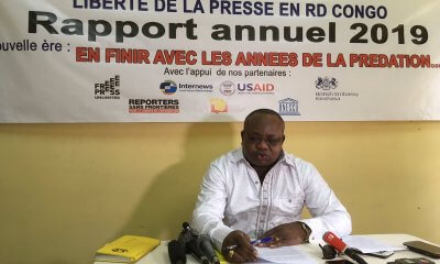 RDC: JED note une baisse de 29% des cas de violations de la liberté de la presse en 2019 16