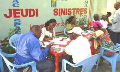 RDC: SONAS indemnise 152 sinistres des trois branches d'assurance 16