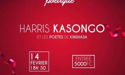 Kinshasa : Saint Valentin Poétique confirmée pour ce vendredi soir à Bandalungwa 2