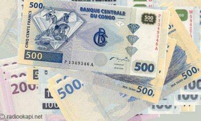 RDC : le taux d'inflation s'est établi à 0,79 % à la quatrième semaine de juillet 2020 (BCC) 5