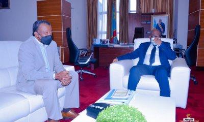 RDC : Covid-19, Dr. Muyembe chez Mayo plaide la cause des prestataires de la riposte 1