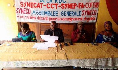 RDC : pour une reprise de cours le 17 août 2020, des enseignants exigent la démission du ministre Bakonga 36