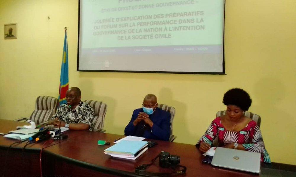 RDC: ACAJ se prépare à un forum de vérité sur l'état de droit et la bonne gouvernance! 6