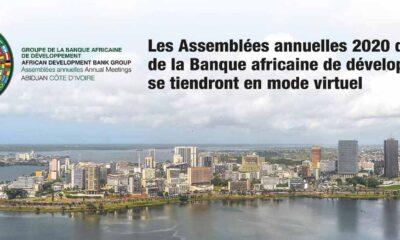 Afrique : la BAD tiendra via vidéoconférence la 55ème session annuelle du Conseil des gouverneurs de la Banque !