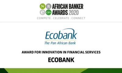 Afrique : le Groupe Ecobank remporte le trophée de l'Innovation dans les services financiers d'African Banker2020 11