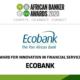 Afrique : le Groupe Ecobank remporte le trophée de l'Innovation dans les services financiers d'African Banker2020 12