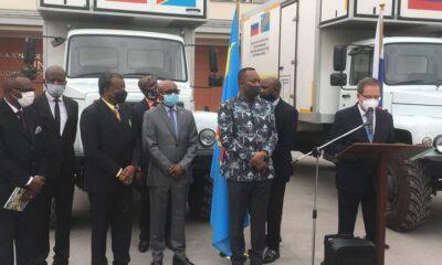 RDC : COVID-19, la Russie offre deux blocs de laboratoires mobiles à l'INRB ! 1