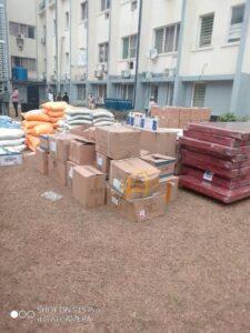 RDC : Covid-19, Standard Bank appuie les Cliniques Universitaires de Kinshasa en matériels et vivres ! 3