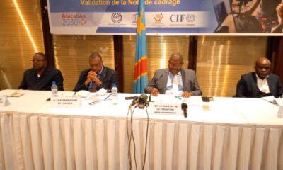 RDC: faire de la formation professionnelle un choix de première zone (stratégie sectorielle de l'Etat) 55