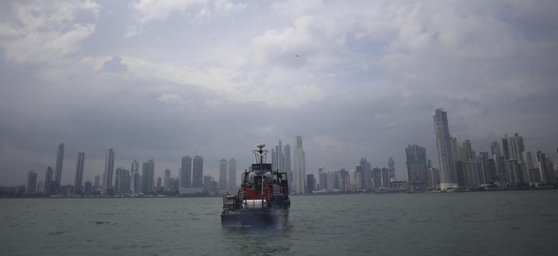 Vue de Panama City Ph. TIers