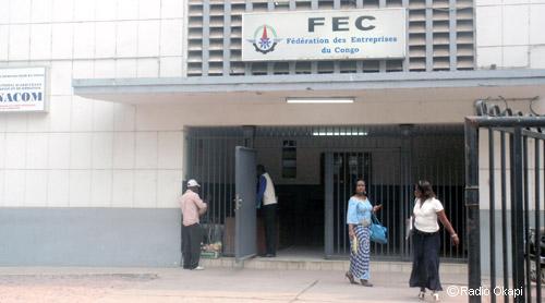 Le siège national de la FEC, à Kinshasa/ Photo Radio Okapi.