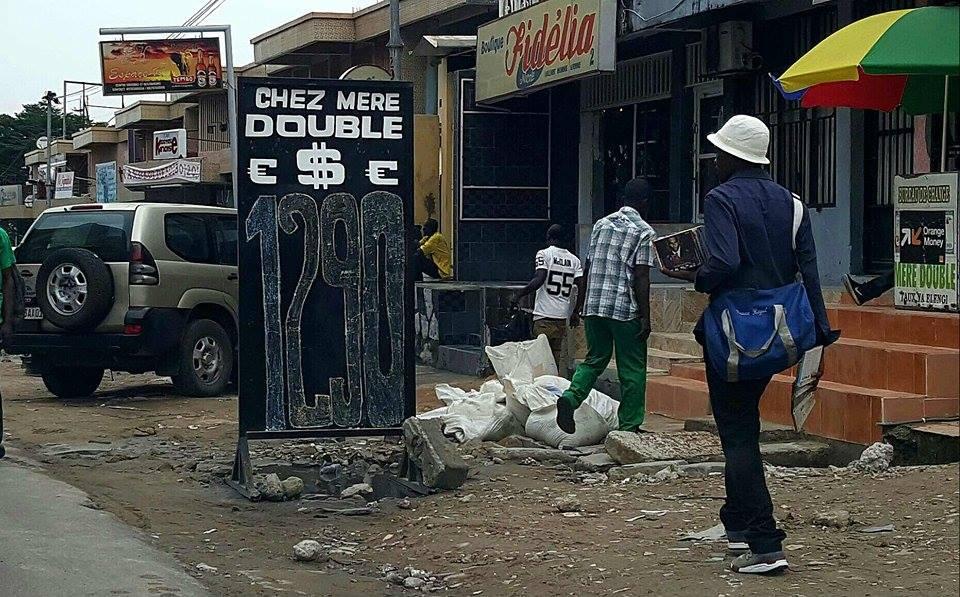 Taux de Change 19 janvier 2017 à Kinshasa – Mère Double – @Zoom_eco