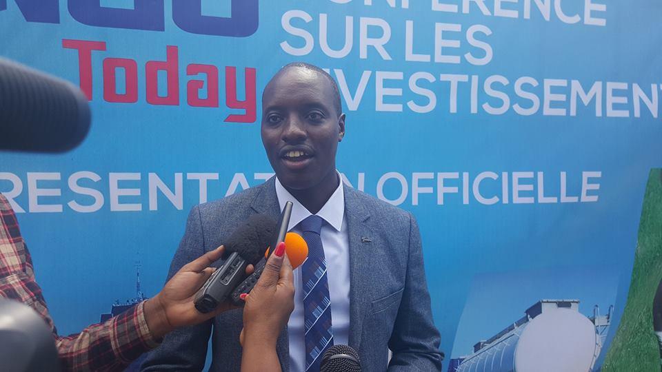 Jean Paul Ruhosha, Directeur Général de Congo Today. Ph. Zoom Eco