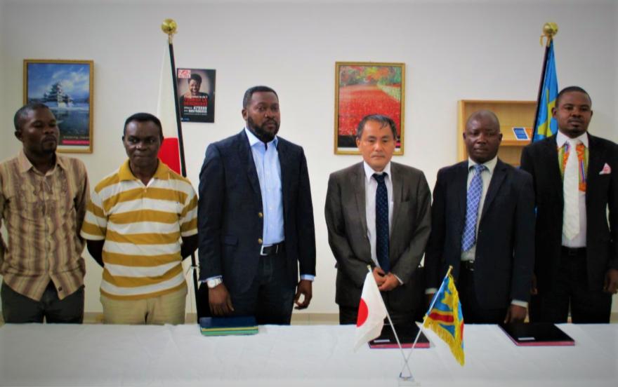 RDC : Le Japon finance 119 000 USD pour un projet d'Adduction Eau à Mont-Ngafula 19