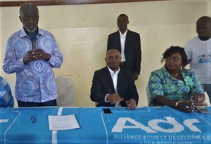 Patrick Muyaya à Goma – Ph. Privée