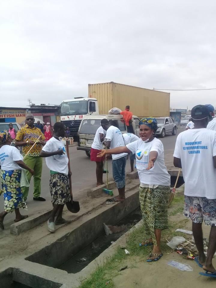 RDC: Le MRL appelle les habitants de Bumbu à assainir leur commune 102