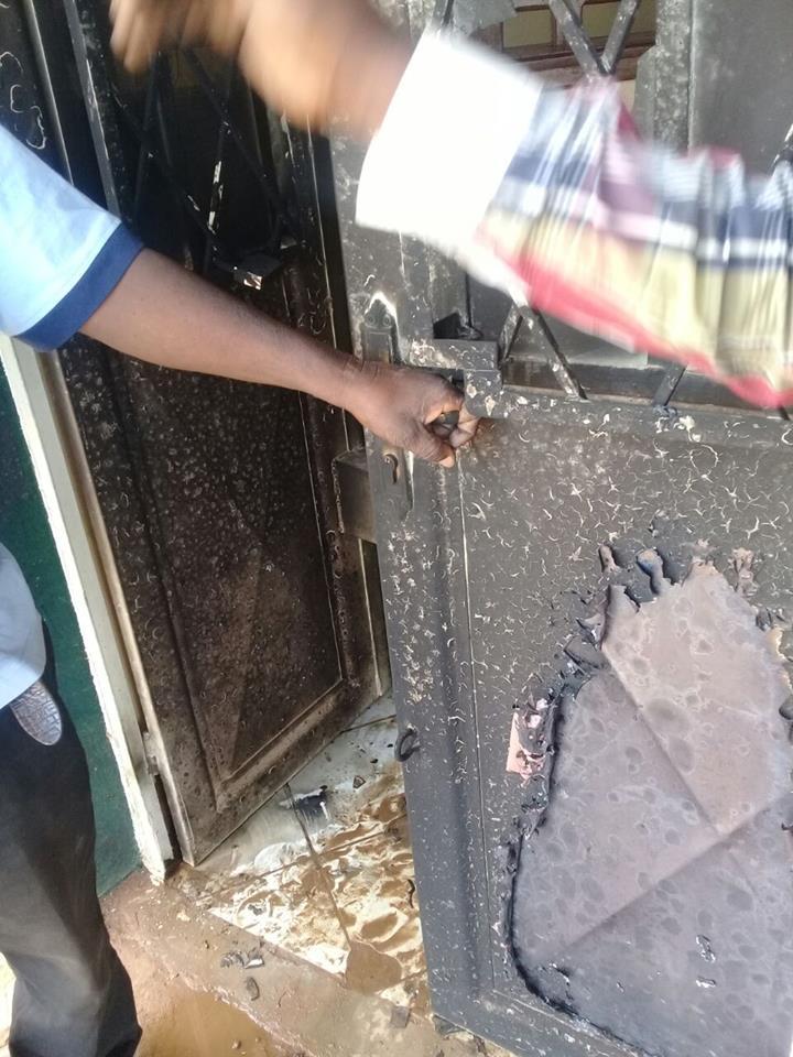 Bureau SONAS vendalisé Kenya, Lubumbashi