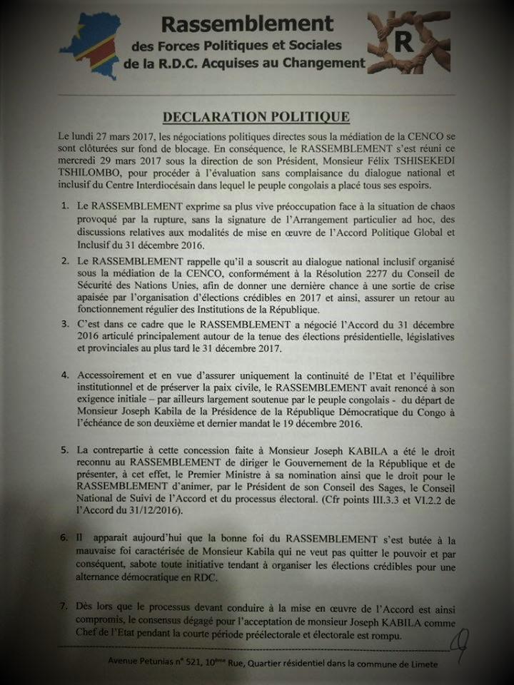 Déclaration Rassemblement du 29 Mars 2017p1