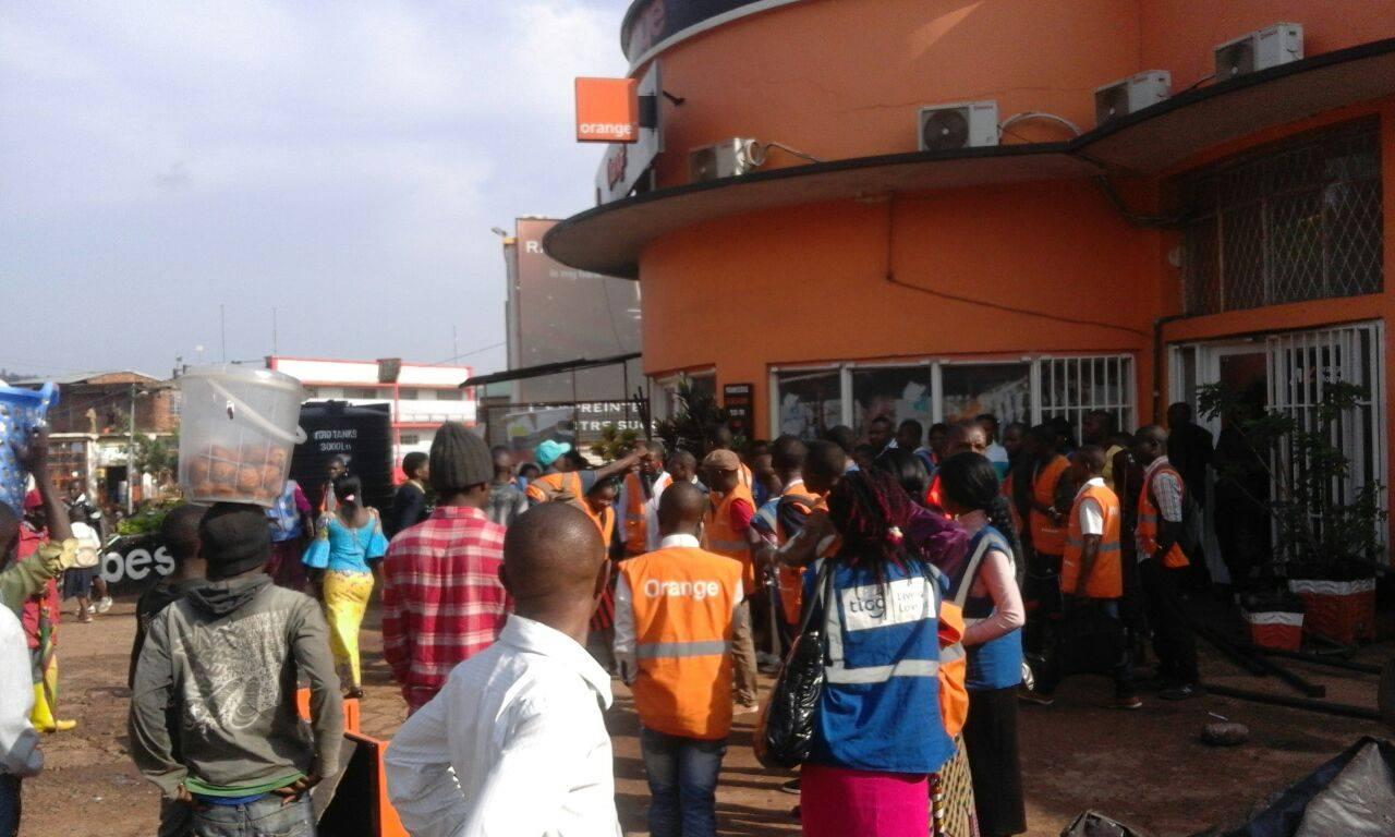 Grogne Orange Tigo Bukavu