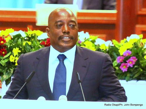 Joseph Kabila Congrès