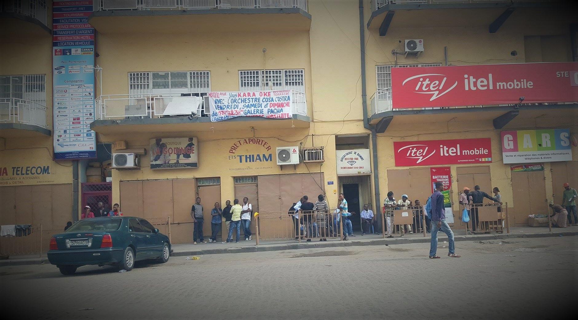 Kinshasa Commerce Vers Memling