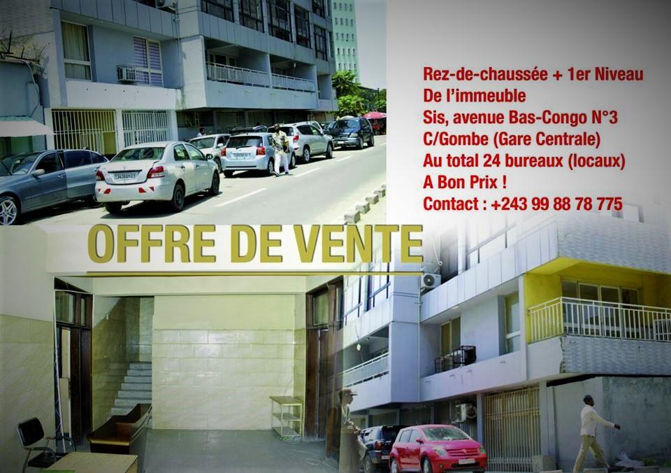RDC : «Rez-de-chaussée + 1er niveau» de cet immeuble mis en vente à bon prix ! 13